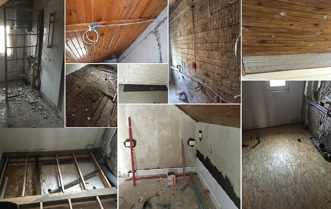 stary dom remont łazienka