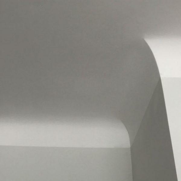zaokrąglone łączenie ścian z sufitem