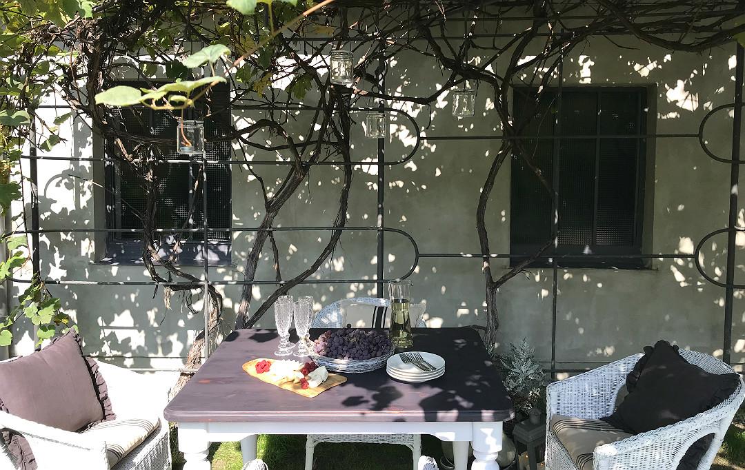 biesiadowanie w ogrodzie slow food slow life