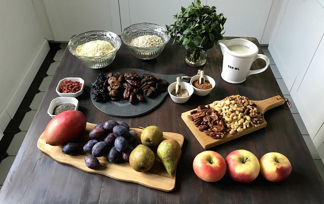 gotowanie owsianki zdrowe odżywianie