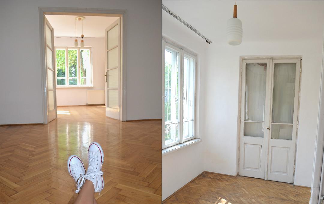 stary dom po zakupie, stan po zakupie