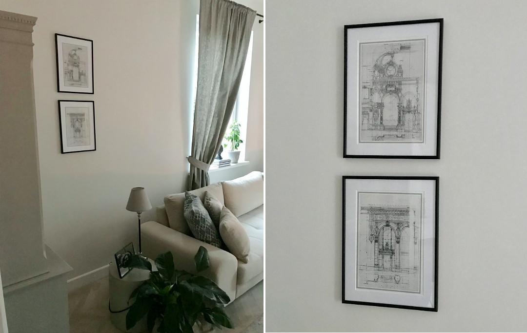 dekoracje i ozdoby w salonie