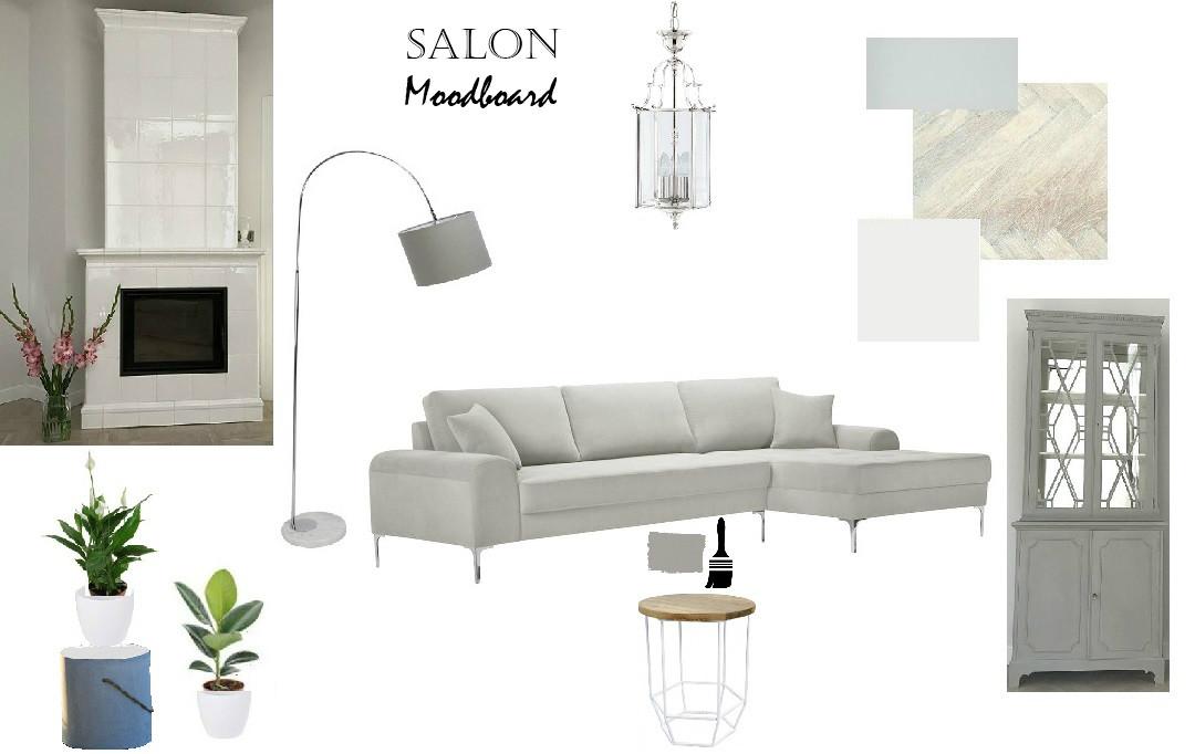 salon tablica inspiracji w stylu nowojorskim