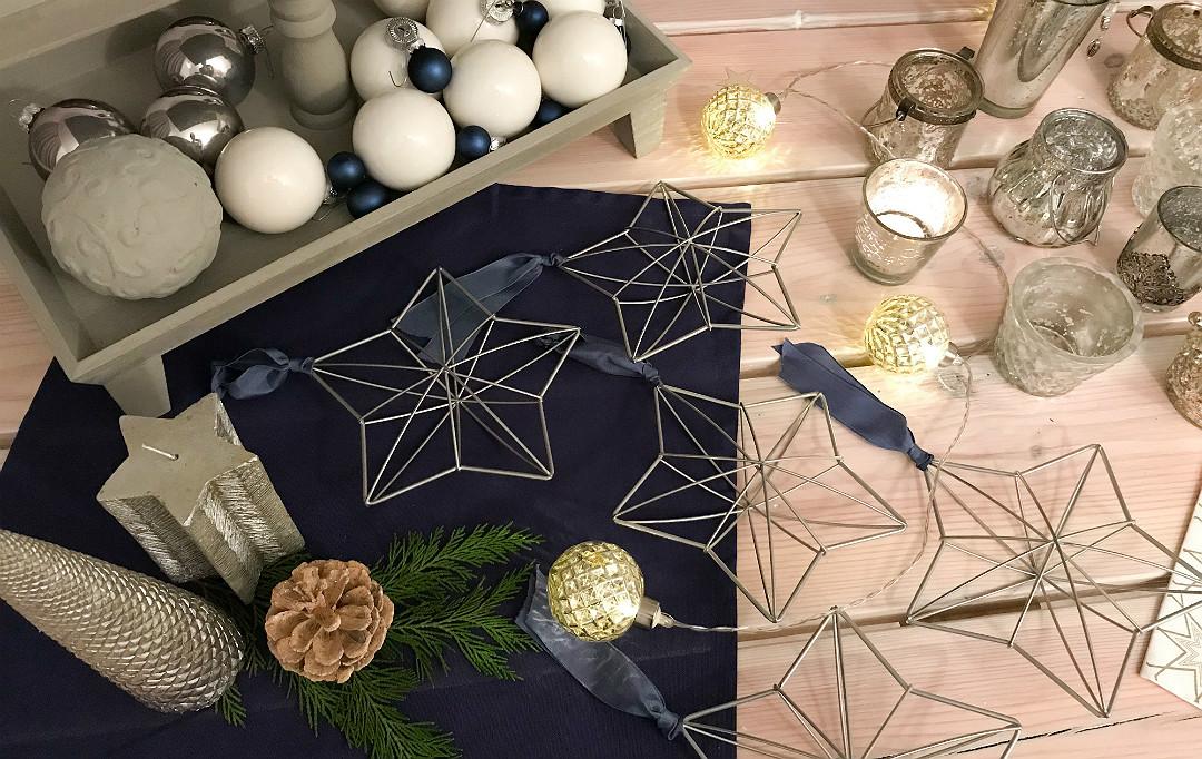 gwiazdki, bomki przerobione własnoręcznie, naszykuj na święta, świece, lampki świąteczne