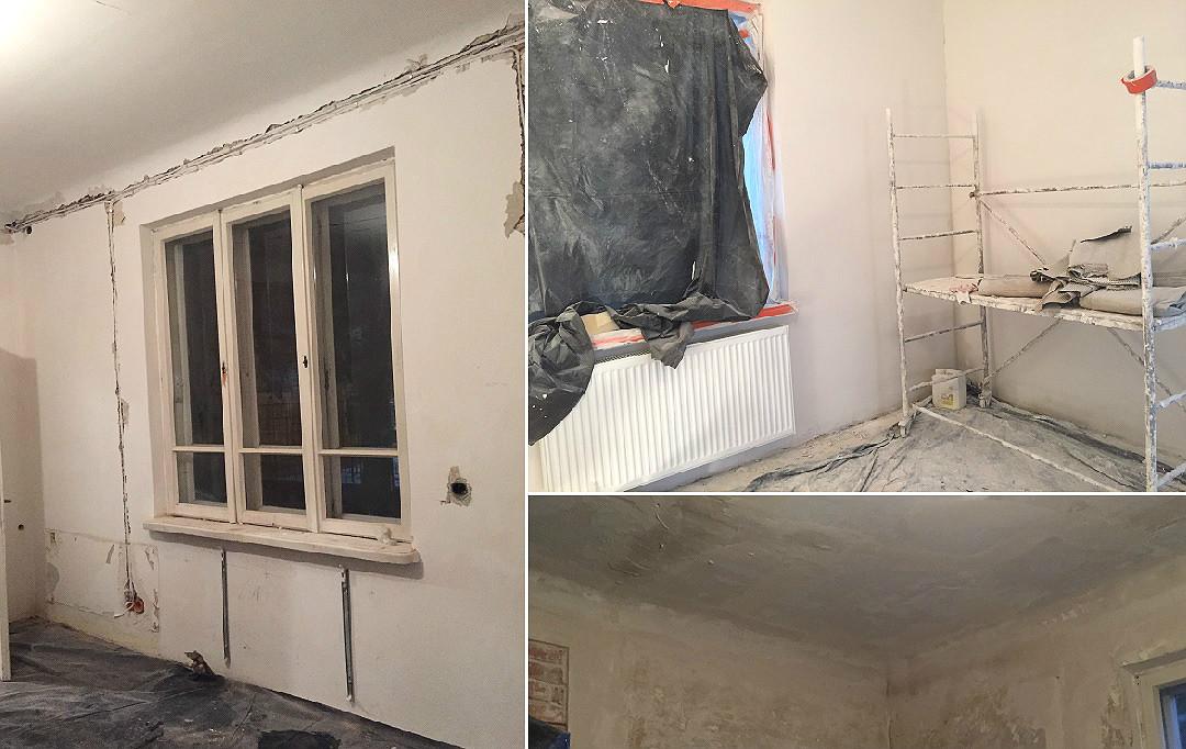remont generalny w starym domu remont starego domu wymiana instalacji tynki