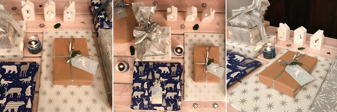 mix spakowane prezenty na święta naszykowane gotowe