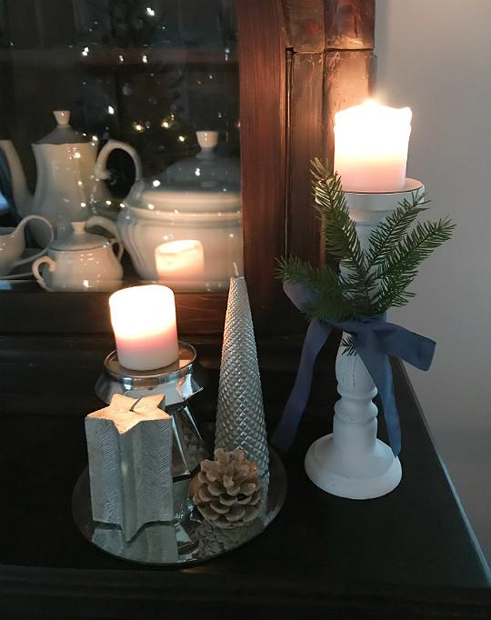 świece świeczniki magiczny klimat świąt