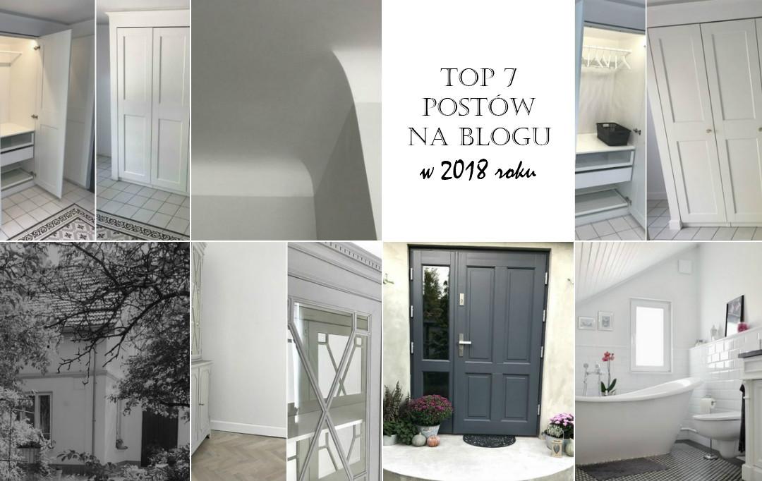 podsumowanie roku 2018 na blogu, najpopularniejsze posty, co czytaliście w 2018, ulubione