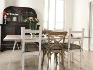 remont starego domu blog metamorfoza wnętrz jadalni