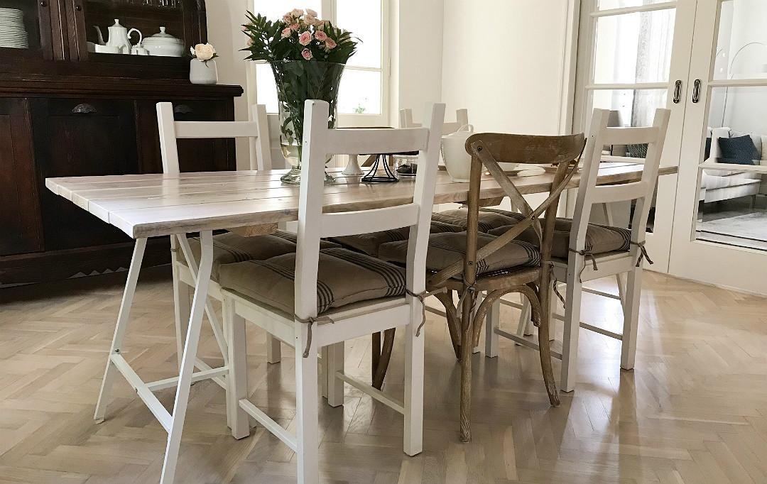 stół własnoręcznie zrobiony zrób to sam do it yourself