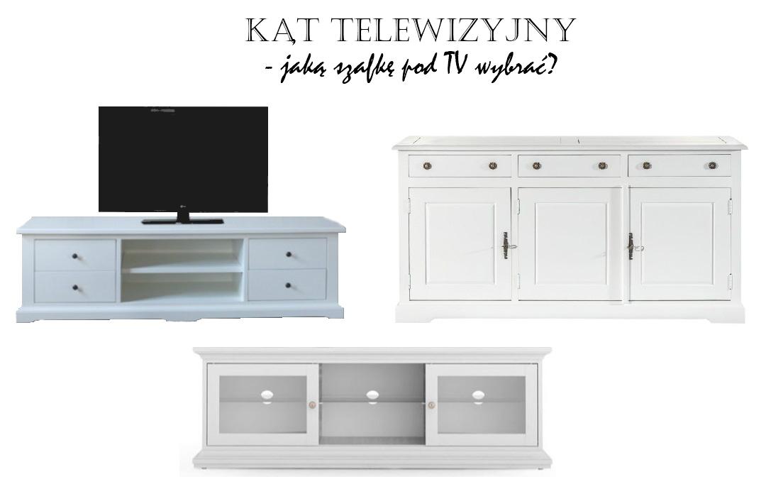 szafka w stylu nowojorskim urządzenie wnętrz kąt telewizyjny