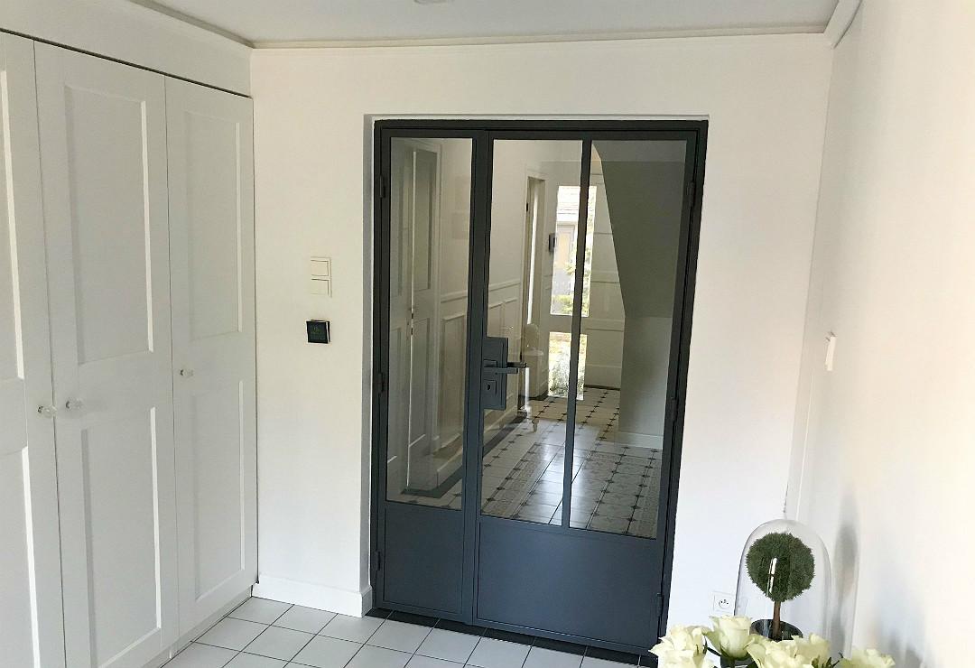 drzwi metalowe loft w stylu industrialnym