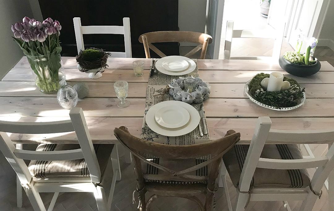 stół na wielkanoc jak udekorować nakryć wielkanocne dekoracje ozdoby