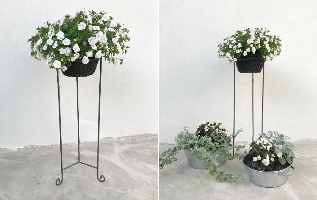 stojak na kwiaty balkonowe tarasowe