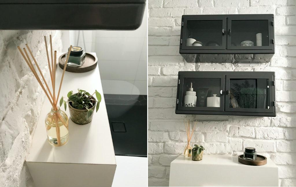 przechowywanie w łazience metalowa szafka do łazienki w łazience