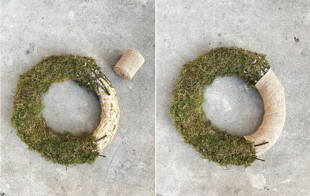 wianek jesienny jak zrobić wykonanie