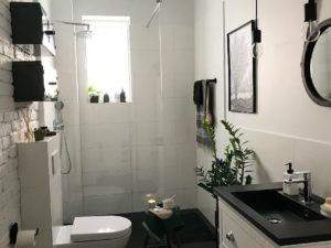 remont generalny łazienki demolka cegła