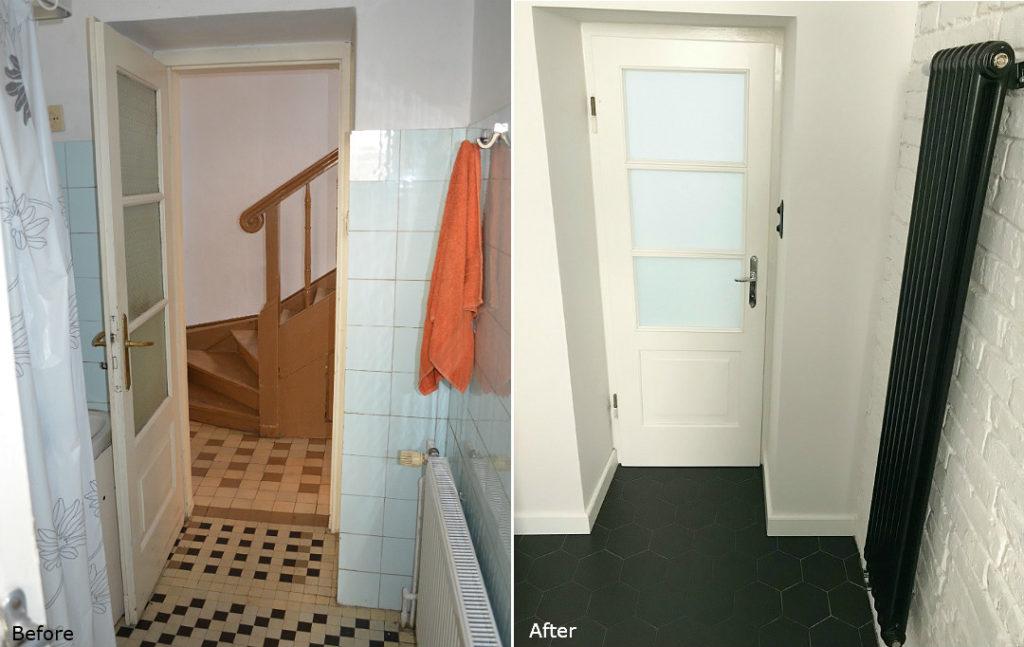 kompletna metamorfoza łazienki jak zrobić remont generalny łazienki before&after bathroom renovation
