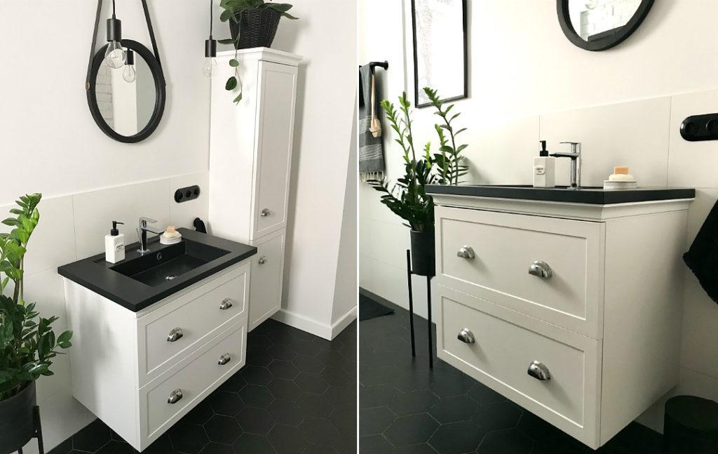 meble łazienkowe w stylu nowojorskim hampton