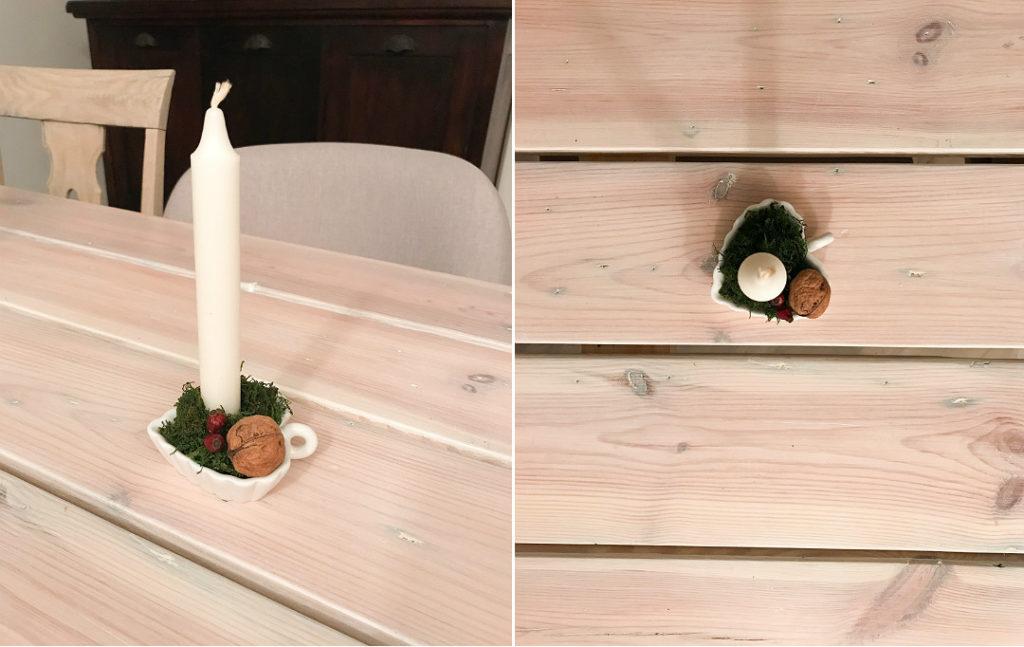 stroik do świeczki proste i szybkie ozdoby świąteczne