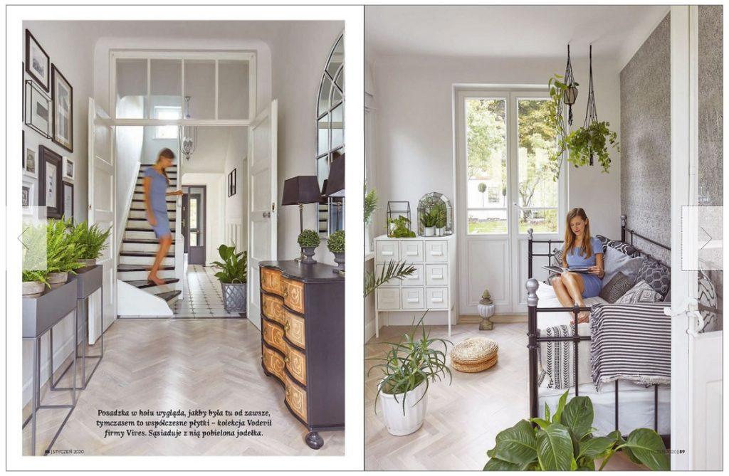 Weranda 1/2020 sesja domu do gazety wnętrzarskiej stylowe wnętrza weranda