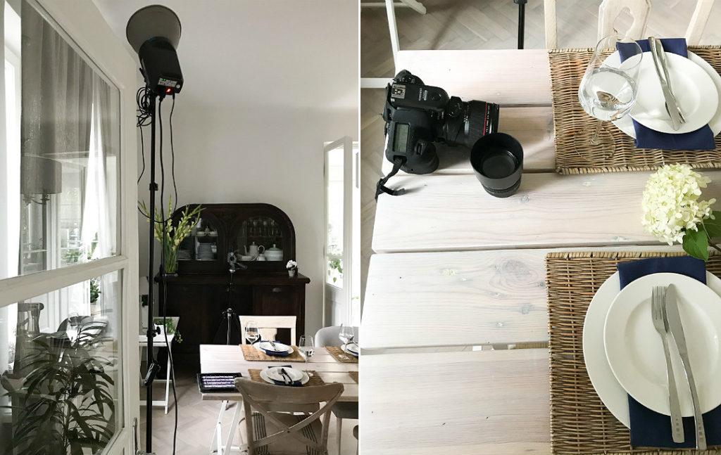 zdjęcia wnętrz domu do magazynu gazety