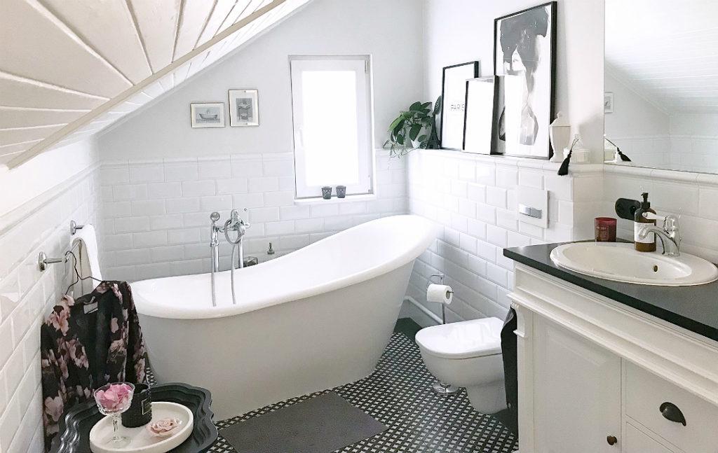 płytki do łazienki, nowoczesna łazienka, łazienka, aranżacja małej łazienki, aranżacja łazienki na poddaszu