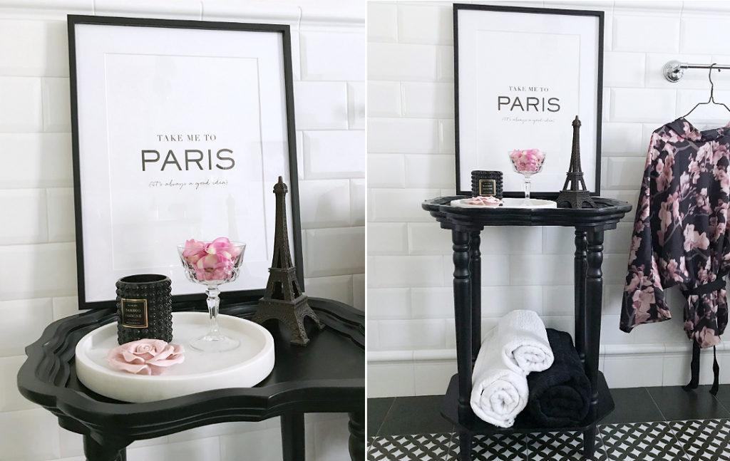 łazienka biało czarna, wystrój łazienki, płytki do łazienki, nowoczesna łazienka, łazienka,