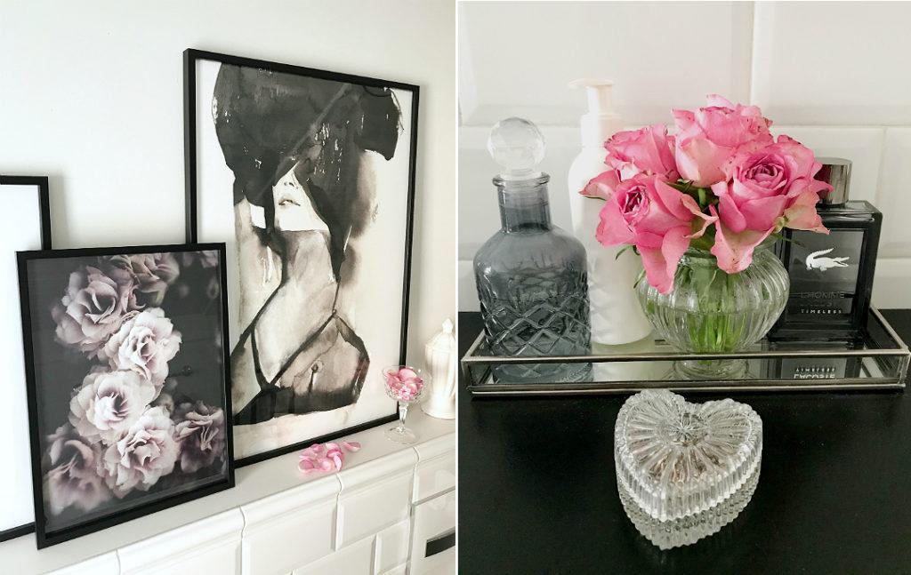 kobieca łazienka, wystrój łazienki, dekoracje do łazienki, ozdoby do łazienki, dekoracje łazienkowe, buduar, oryginalne plakaty na ścianę