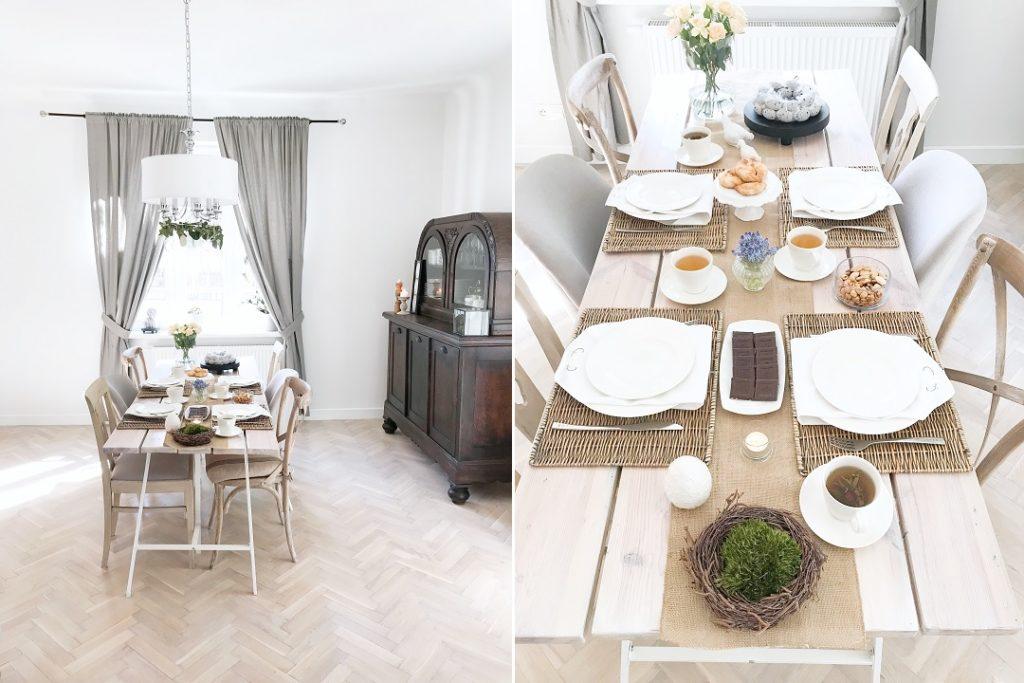 jak nakryć stół na wielkanoc, jak udekorować stół na wielkanoc, wielkanocne ozdoby, wielkanocne dekoracje