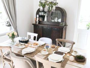 wielkanoc, wielkanocne dekoracje, wielkanocny stół, jak nakryć wielkanocny stół, jak udekorować dom na wielkanoc