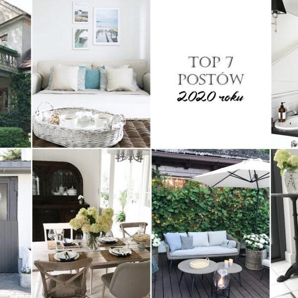 podsumowanie roku 2020 na blogu, najpopularniejsze posty, co czytaliście w 2020, ulubione, najchętniej czytane